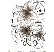 Flower Tattoo Designs For Woman Pencil Drawings Tatt Flash 1