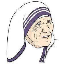 Mother Teresa coloring pages | The Blessed Teresa of Calcutta