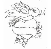 Bird And Banner Tattoo Dove Ribbon Design Tattoosfx