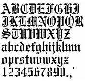 Old Tattoo Font  Villakajava