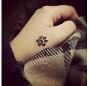Latest Dog Paw Print Tattoos Ideas