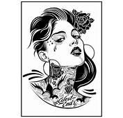 Pin Up Girl Tattoo Designs  MadSCAR