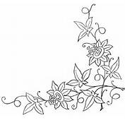 Passion Flower – Embroidery Pattern