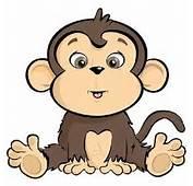 Cute Cartoon Monkeys  Clip Art Classroom Bulletin