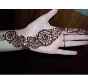And Elegant Mehndi Designs Bridal Flower