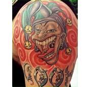 Fotos De Tatuagens Palhaços Masculinas E Femininas