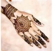 New Fashion Trend Circular Mehndi Designs For Eid Ul Fitar