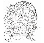 Com Img Src Http Www Tattoostime Images 436 Outline Rose And