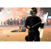Vancouver Kiss Couple Were Knocked Down By Riot Police  World News