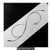 Infinity Symbol Tattoo Design Idea 07  Tattoospedia