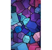Free Cell Phone Wallpapers Themes Download 480x800 Coloured Squares