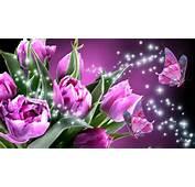 Romance Of Pink Butterflies  Wallpaper