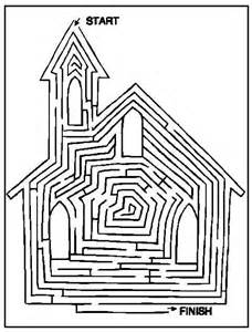 Free Children s Coloring Pages For Church 1