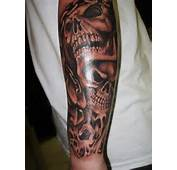 Skull Tattoo Sleeves Designs And Ideas  Great Tips