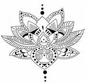 Adult Coloring Pages &gt Tattoos Tattoo Lotus
