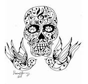 Sugar Skull Tattoo By Zozi333 Traditional Art Drawings Pop 2011