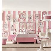 Super Cute Teenage Girls' Room In Chic White And Posh Baby Pink