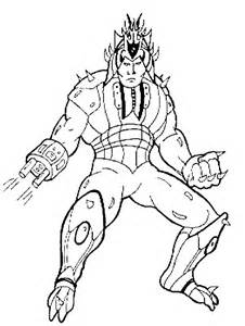 ultimate warrior coloring pages