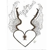Heart With Wings Drawing By Me RredHeadd On DeviantArt