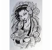 Tattoo Zimbio Arm Japanese Geisha Design