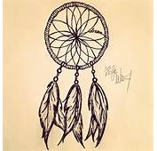 Almost Done Drawing Sketch Dreamcatcher Painting Indian Feather