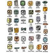 Thereare Many Ancient Mayan Symbols We Have Added Some Of The Most