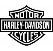 Harley Davidson Logo Full Size Black And White