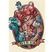 Illustrations Ariel Tim Shumate Siren Little Mermaid Tattoo Picture