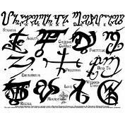 Tattoo Runes Ii By Far Eviler Designs Interfaces Design As