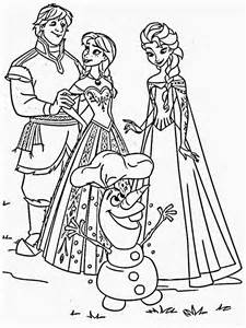 Frozen Coloring Pages Images | Coloring Pages Images