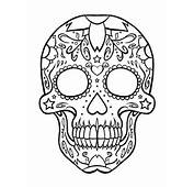 Download And Print These Sugar Skull Coloring Pages For Free