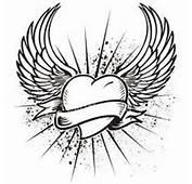 Tatouage Ailes Cœur Message  Voilà Mon Trouvez Votre