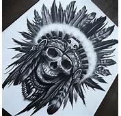 Sharp Teeth Cat Skull And Rose Tattoo Sketch Photo  1 Real