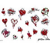 GIL TATTOO Corações