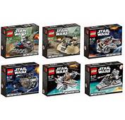Lego 2013 Star Wars Winter Sets Microfighters