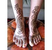 Mehndi Lovers Cute Leg Design Part  2