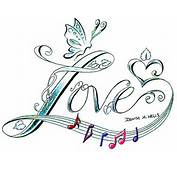 Love Song Tattoo Design By ♫Denise A Wells♫  Flickr Photo