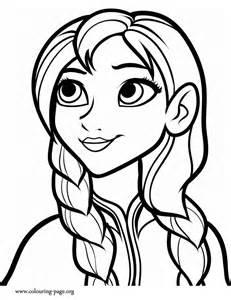 Anna Coloring Page colouring-page.org