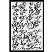 Tattoo Lettering Styles Alphabet