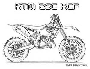 FMX Dirt Bike Coloring | Dirtbikes | Free | Motosports | Dirt Bike ...