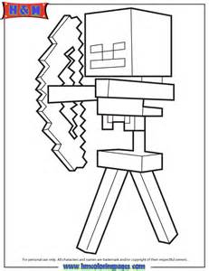 ... And Arrow From Minecraft Game Coloring Page | H & M Coloring Pages