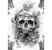 Skull Tattoo By Erovaruis On DeviantArt