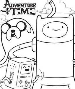 adventure time coloring pages, printable adventure time coloring pages ...