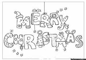 ... christmas print out coloring pages - Printable Coloring Pages For Kids