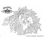 Fairy Art I Did Find One Free Coloring Page At Marjoleins Site