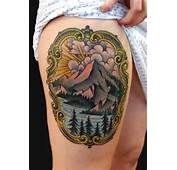 1000  Images About Tattoos On Pinterest Mountain Tattoo Old