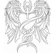 Caduceus Tattoo Outline By Navitz