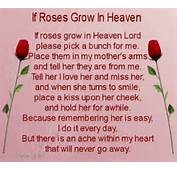 Mother In Law Poem  Happy Birthday To My Mom Heaven Quotes 2013