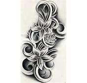 Andriaj89 Temporary Flower Tattoos Designs