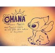 Ohana By Luvdrawing2 On DeviantArt